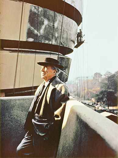 With typical bravado, Frank Lloyd Wright (New York City, 1959) saw his  Guggenheim Museum as a beautiful symphony such as never existed in the  world of Art ...