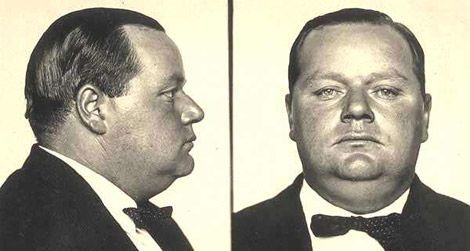 Upon his arrest for murder, Roscoe Arbuckle was booked into custody and denied bail.