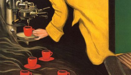 The Long History of the Espresso Machine