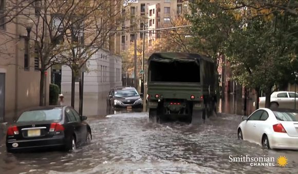 Preview thumbnail for video'Flying into Hurricane Sandy