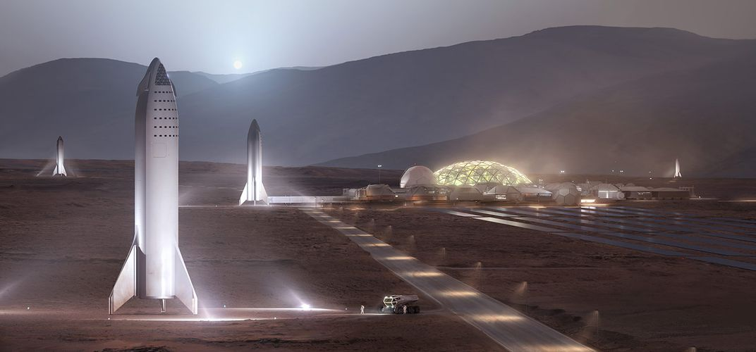 Caption: A Million People on Mars May Not Be Impossible