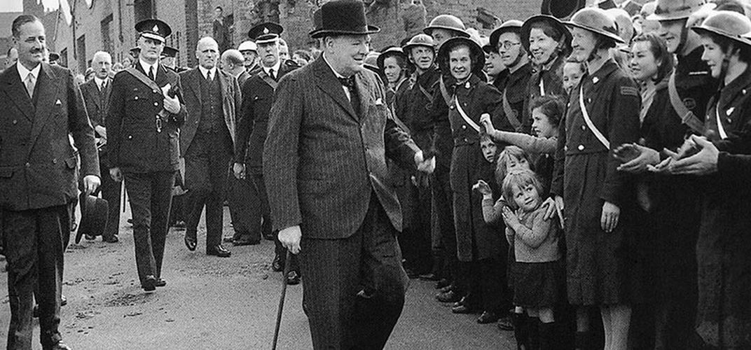 Caption: Winston Churchill and the Art of Fearlessness