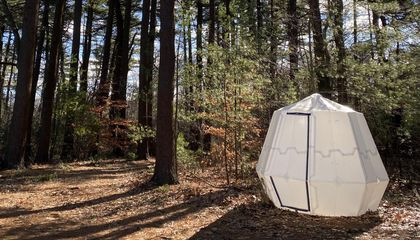 Inflatable Origami Structures Could Someday Offer Emergency Shelter