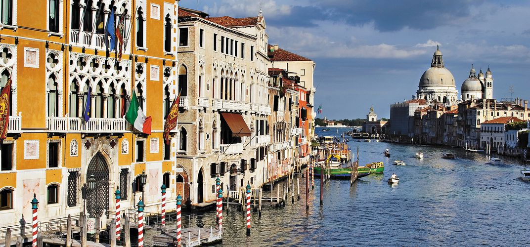 The legendary Grand Canal in Venice