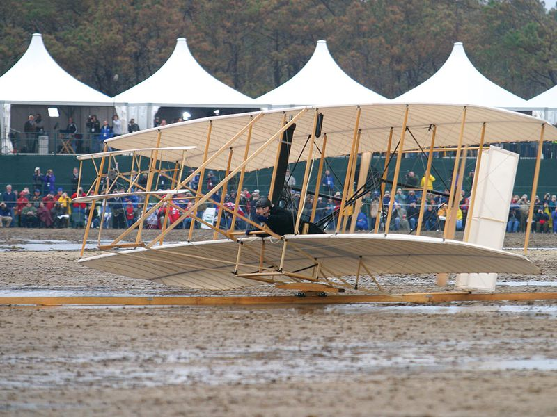 reproduction of Wright Flyer