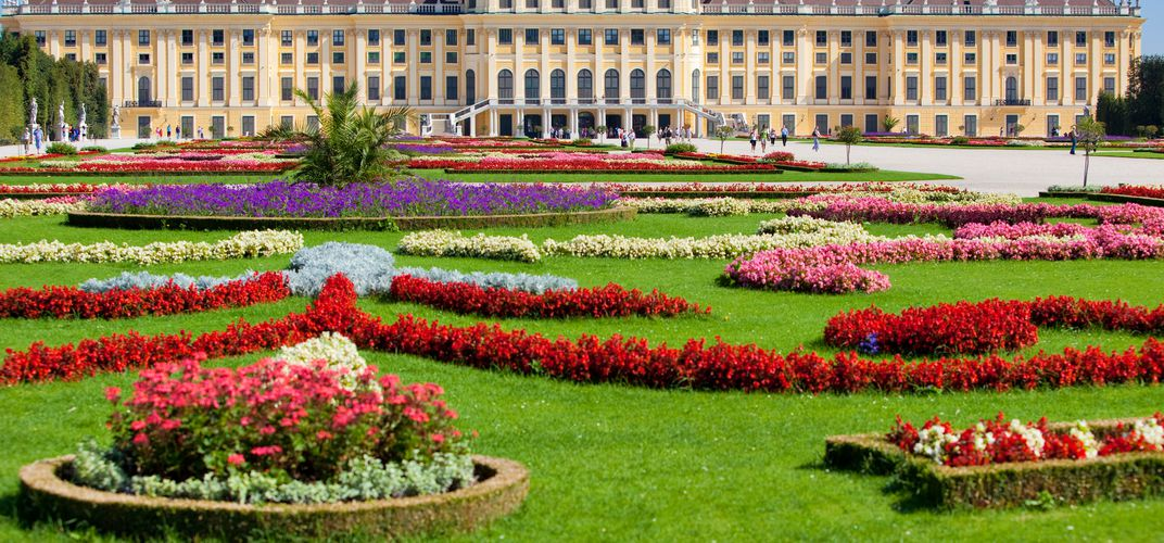 Vienna's Schönbrunn Palace, a World Heritage site and the Habsburgs' summer residence