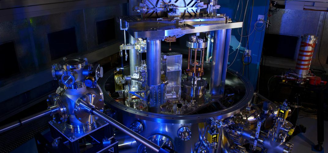 Caption: Scientists Are About to Redefine the Kilogram