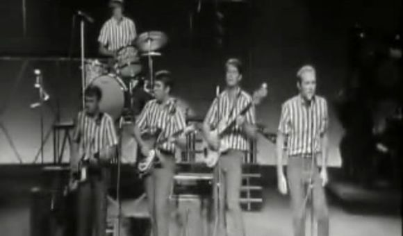 "Preview thumbnail for video'The Beach Boys Perform ""I Get Around"""