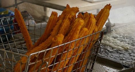 Churros can be both delicious and dangerous.