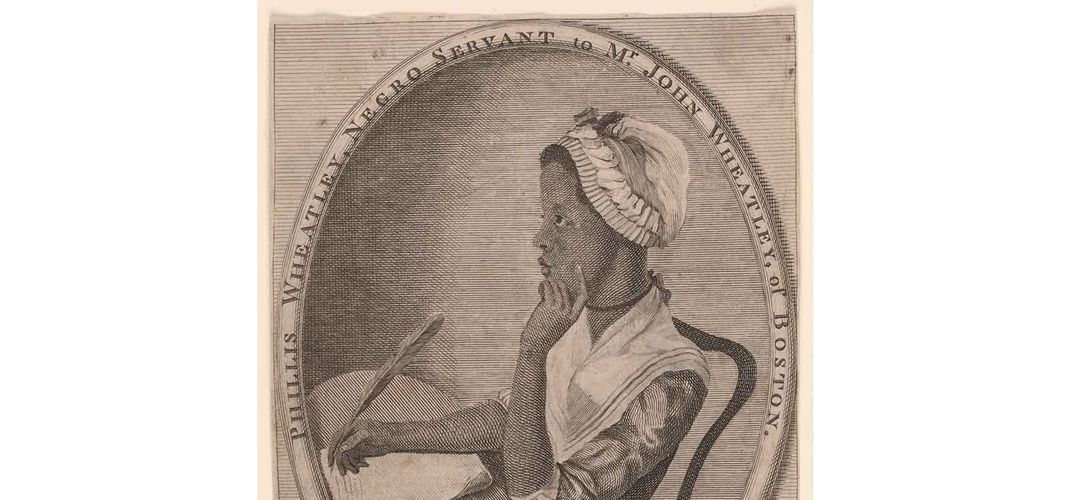Caption: An Homage to the Enslaved Poet Phillis Wheatley