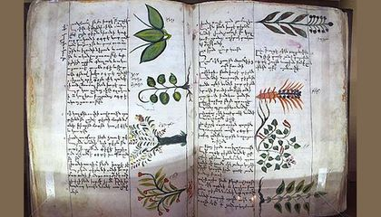 Fifteenth century Armenian botanical encyclopedia