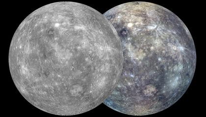 Did Mercury Do a Hit-and-Run on Earth?