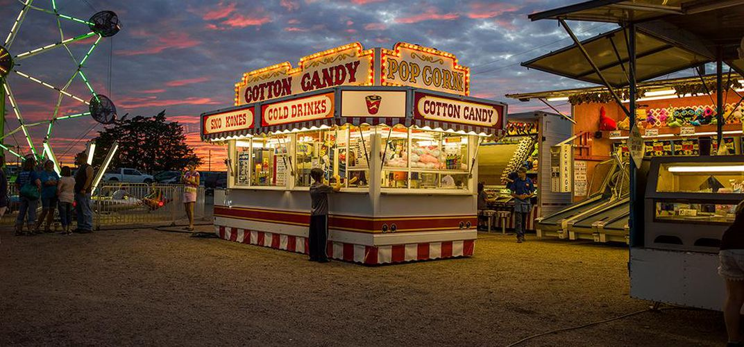 Caption: Daydream About Summer With These Color-Drenched Photos of the Great American Fair