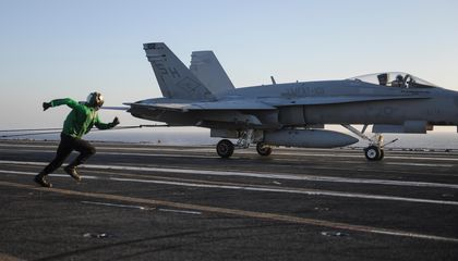 The Complex Choreography of Carrier Landings