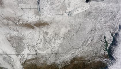 See the Winter of Our Discontent…From Space