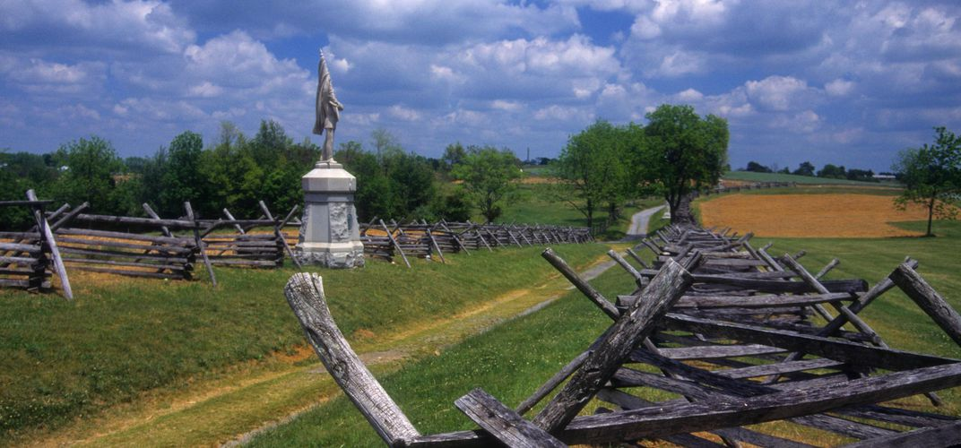 Bloody Lane, Antietam battlefield