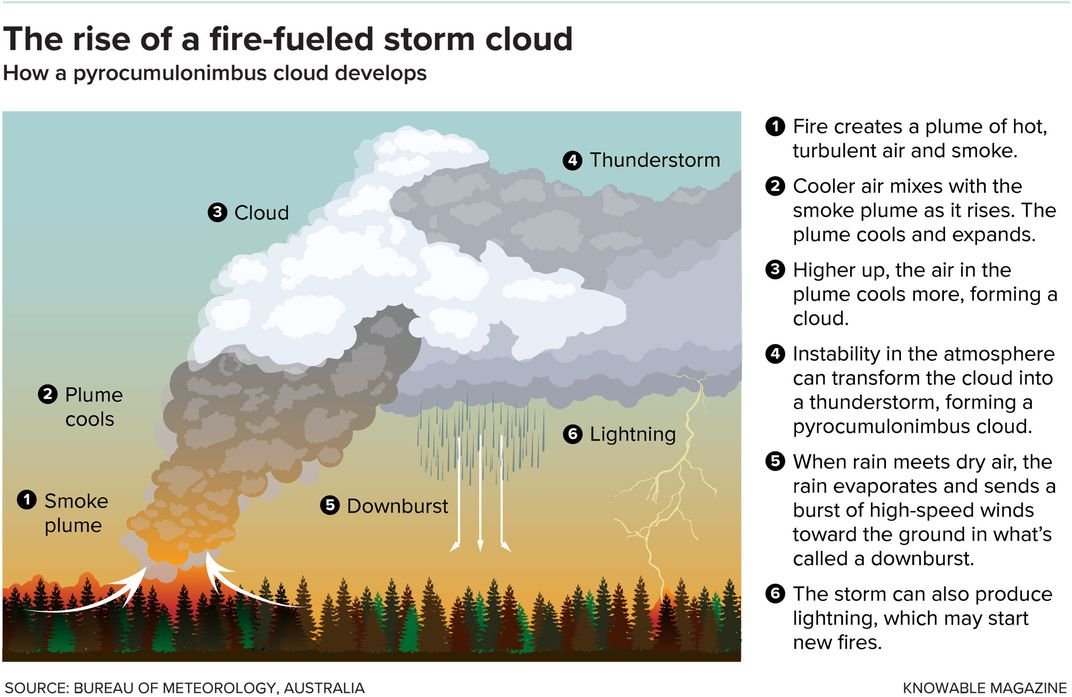 Fire Cloud Chart