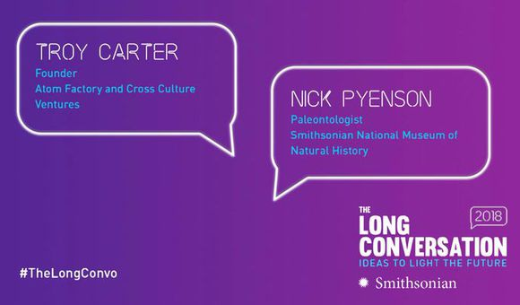 Preview thumbnail for video'The Long Conversation 2018: Troy Carter Interviews Nick Pyenson