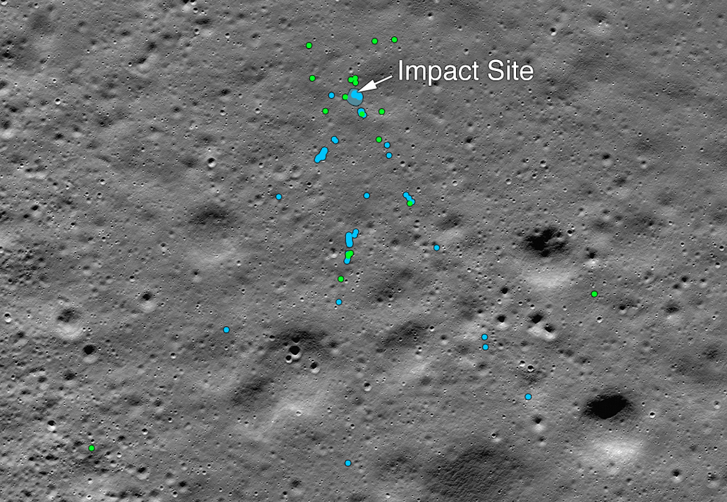 Amateur Astronomer Locates India's Moon Lander Crash Site