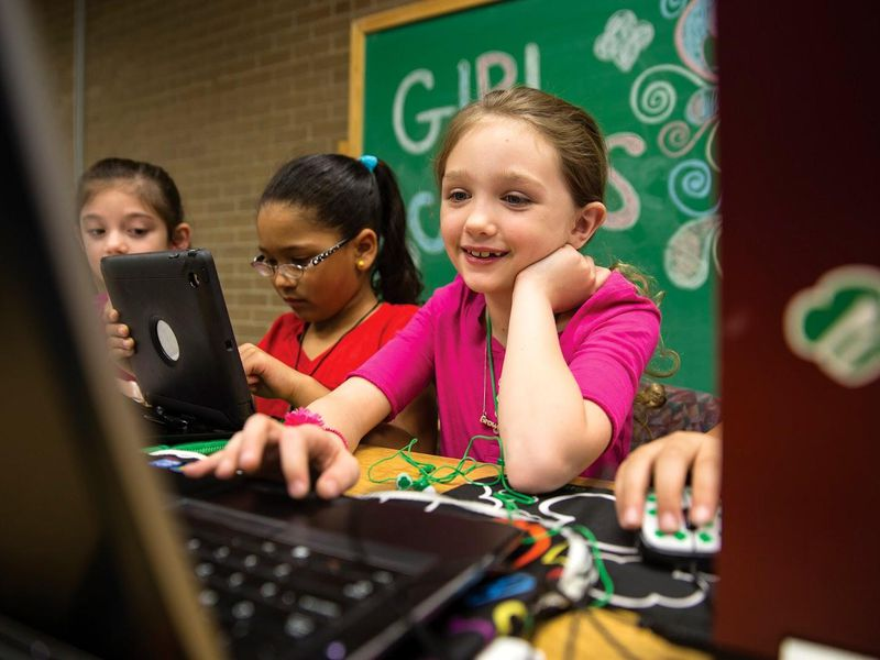 Girl Scout Computers
