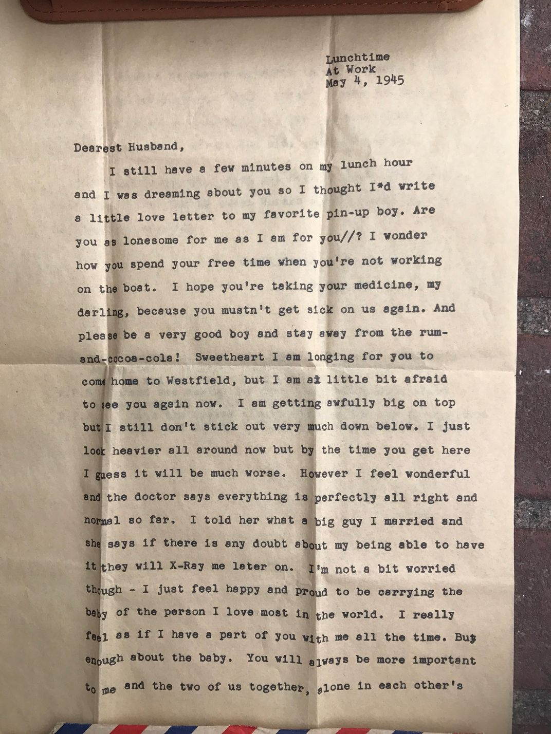 72 Year Old Love Letter Returned to WWII Veteran