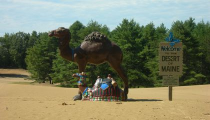 The Science of a Tourist Trap: What's This Desert Doing in Maine?