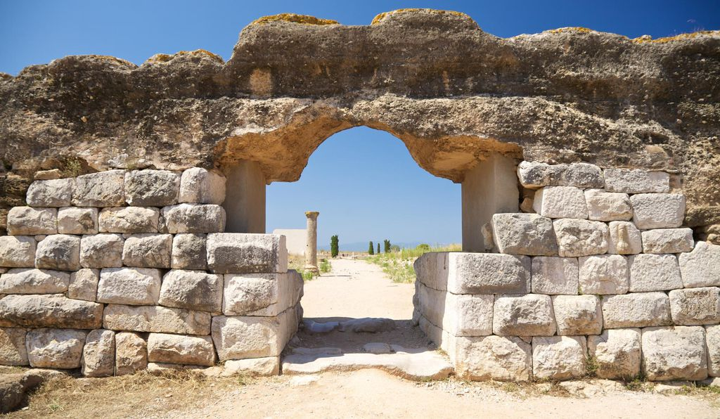 The archaeological site of Empúries