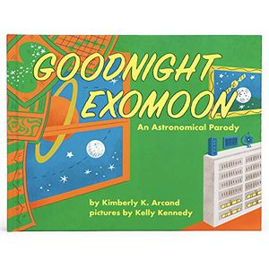 Preview thumbnail for 'Goodnight Exomoon (Smithsonian Kids Storybook)