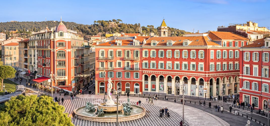 View of Place Massena, Nice
