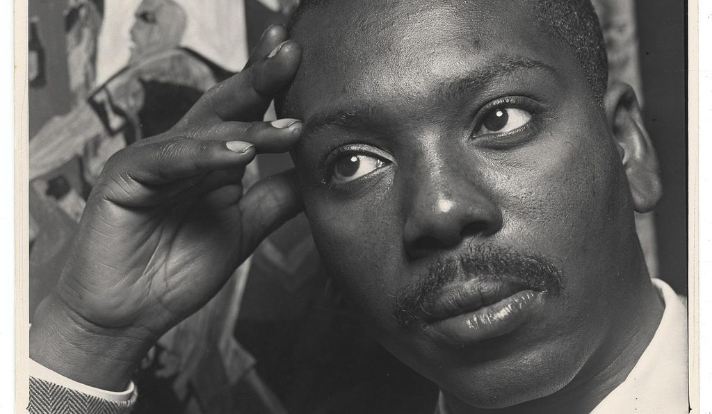 Jacob Lawrence by Alfredo Valence, 1957