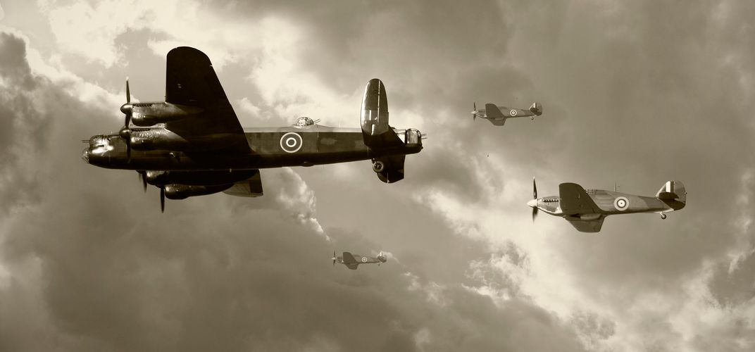 Battle of Britain historic planes