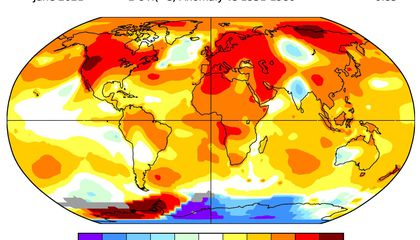 Study Measuring Earth's Vital Signs Warns of Climate Tipping Points