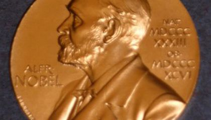 The Nobel Prize With the Most Frequent Flyer Miles