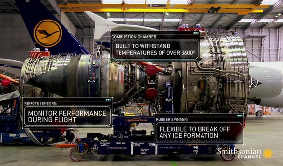 Preview thumbnail for video'How to tune up a jumbo jet engine with 20,000 parts