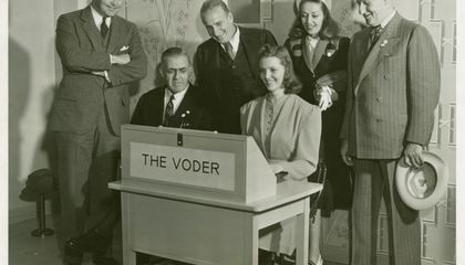 "Meet Pedro the ""Voder,"" the First Electronic Machine to Talk"