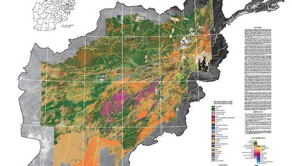 Mapping Afghanistan's Geology from Really, Really Far Away