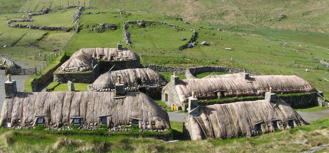 Black House Village, Isle of Lewis and Harris