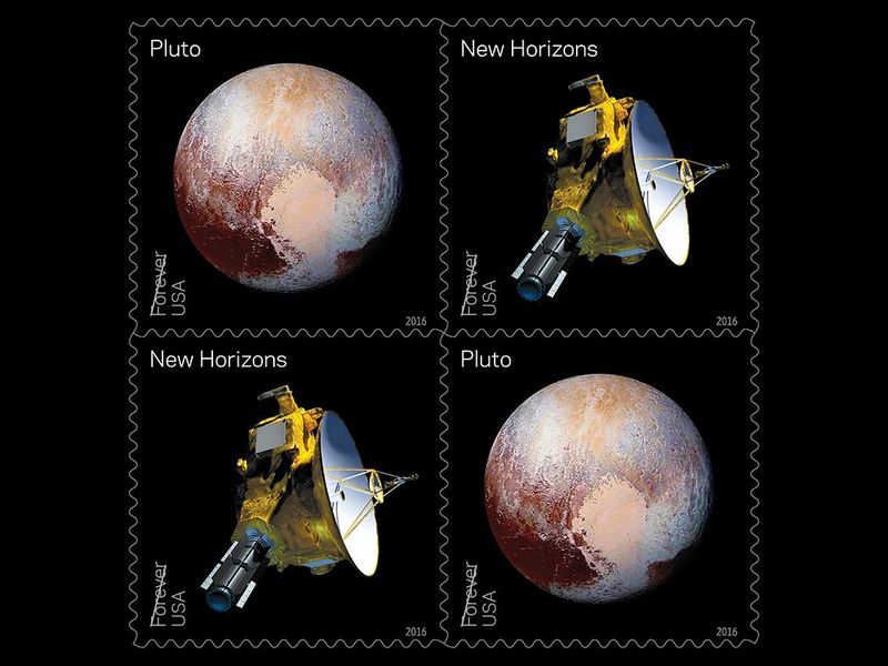 New Horizons Stamps