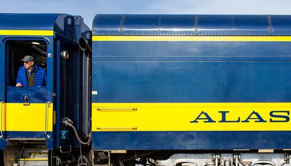 For a Truly Authentic Alaskan Experience, Hop Aboard America's Last Flag-Stop Train