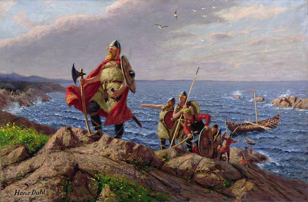 Leif Erikson discovers America