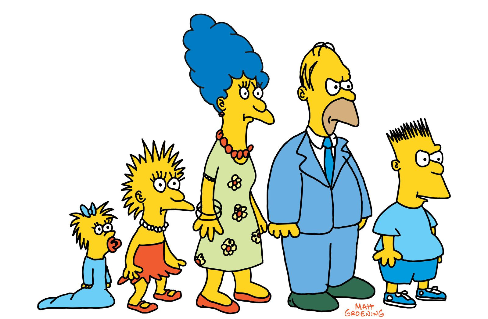 The Simpson Family Made Its Television Debut 30 Years Ago | Arts & Culture
