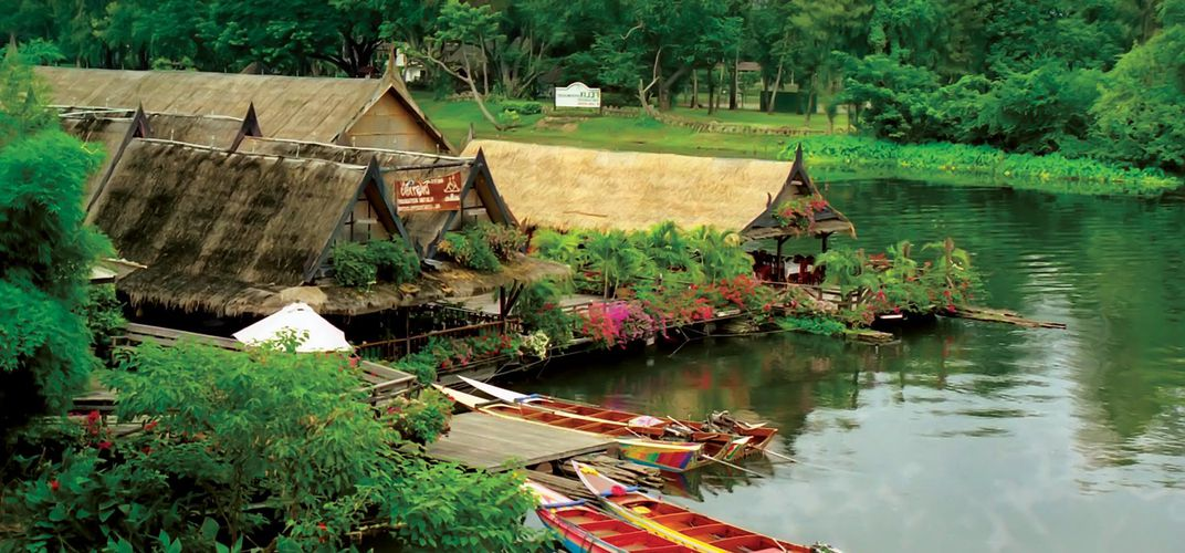 Village along the River Kwai