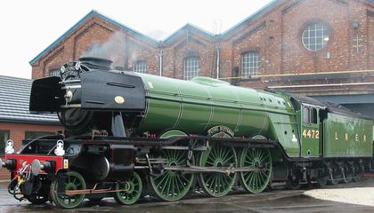 The 'Flying Scotsman' Made Train History When The Speedometer Hit 100