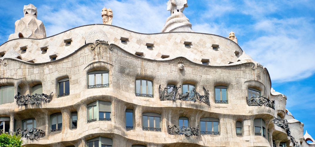 Gaudi's Casa Mila apartment building