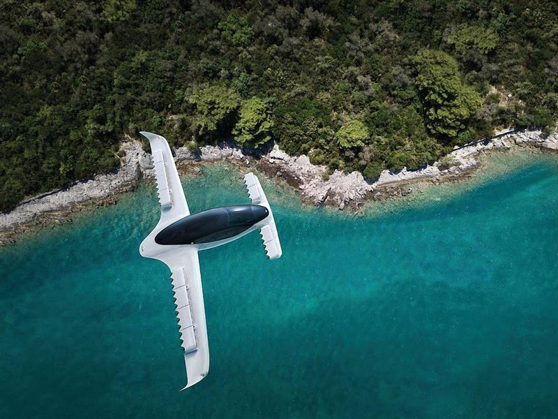 air taxi over water