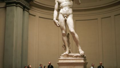 Michelangelo's David Has Weak Ankles