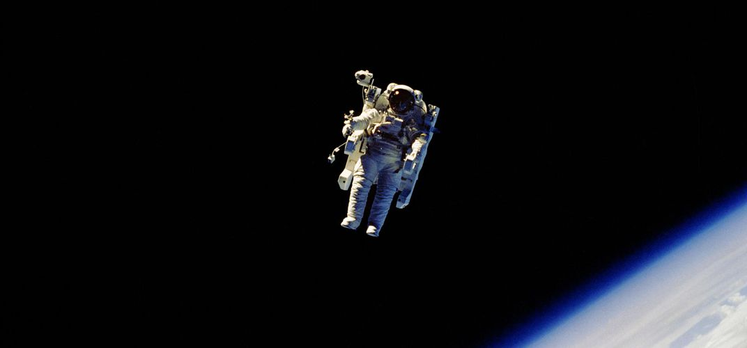 Caption: The Spacewalk From Hell