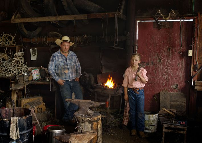 Chance and Gus Forging Spurs