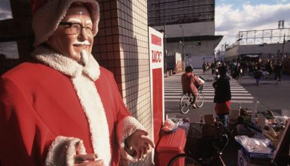 Why Japan Is Obsessed with Kentucky Fried Chicken on Christmas