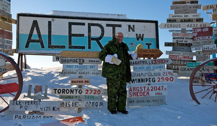 Northernmost Settlement Sets a Temp Record